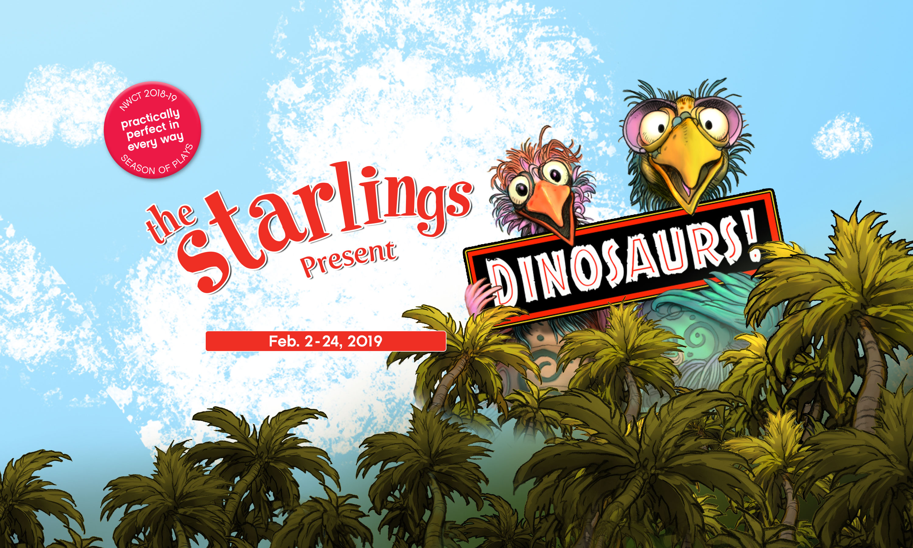 The Starlings Present: Dinosaurs!