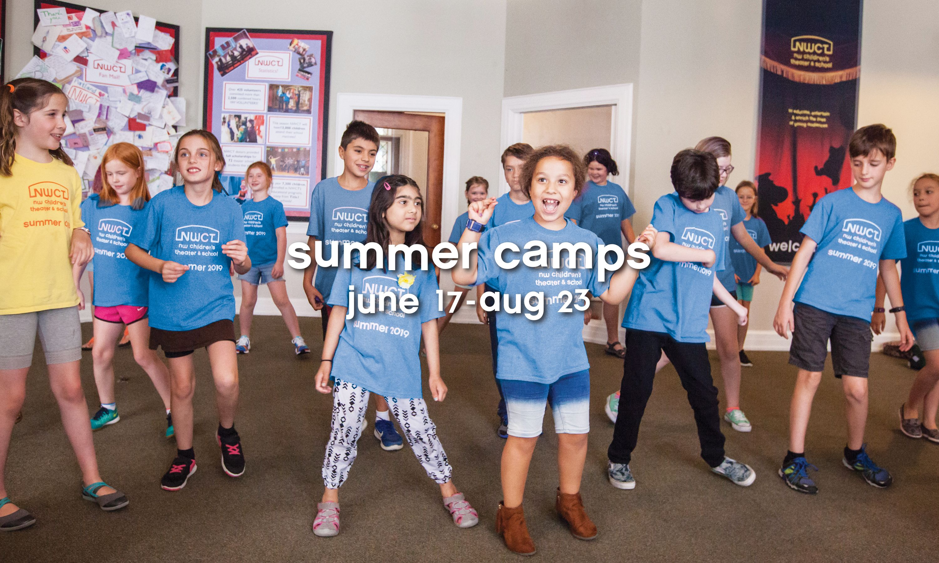 NWCT Summer Camps 2019
